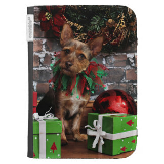 Christmas - Chorkie - Toby Case For The Kindle