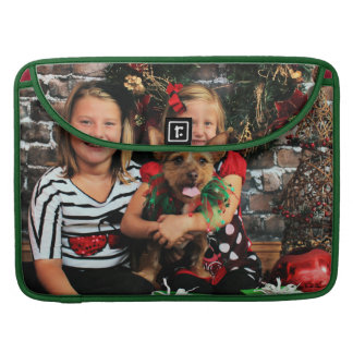 Christmas - Chorkie - Toby Sleeves For MacBook Pro