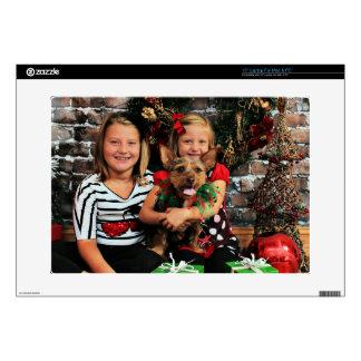 Christmas - Chorkie - Toby Laptop Skin