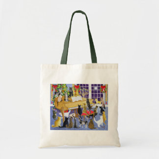 Christmas Chorus Tote Bag
