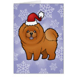 Christmas Chow Chow Greeting Cards
