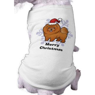 Christmas Chow Chow T-Shirt