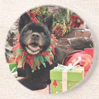 Christmas - Chow Chow X - Moki Drink Coasters