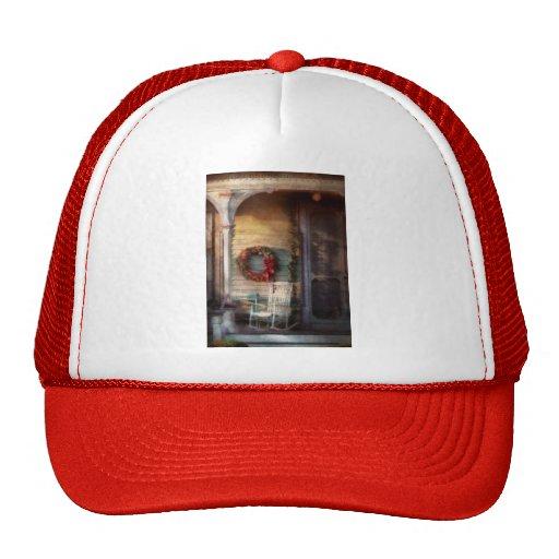 Christmas - Christmas is right around the corner Mesh Hats