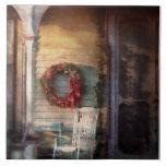 Christmas - Christmas is right around the corner Ceramic Tile