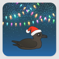 Christmas Christmas Shearwater Square Sticker
