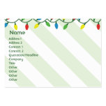 Christmas - Chubby Business Cards