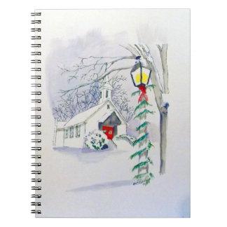 Christmas Church Notebook