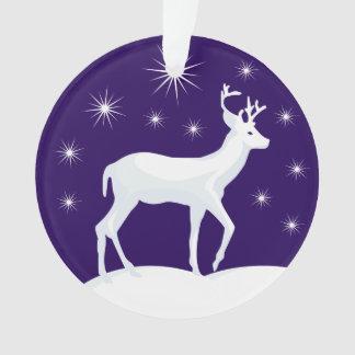 Christmas Circle Ornament Christmas Reindeer