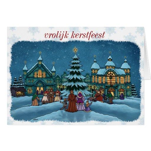 Christmas city Christmas card