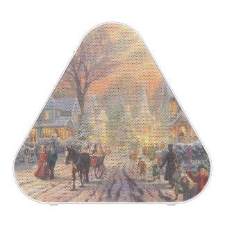 Christmas city - christmas village bluetooth speaker
