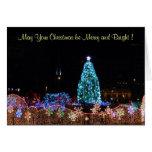 Christmas City Lights Card
