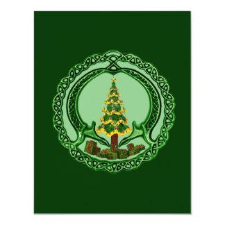 Christmas Claddagh Card