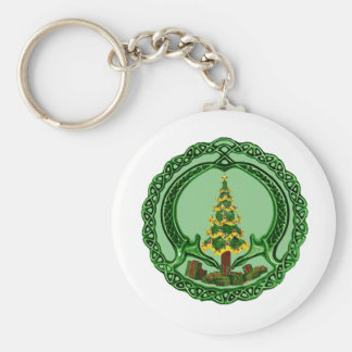 Christmas Claddagh Keychains