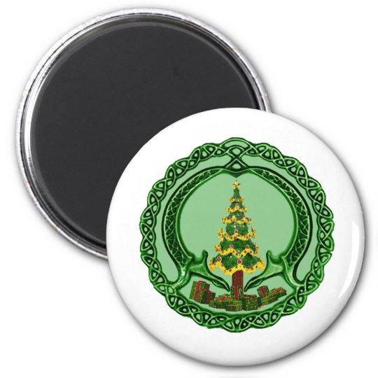 Christmas Claddagh Magnet