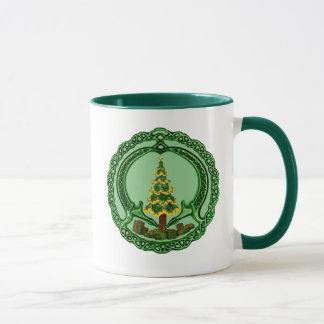 Christmas Claddagh Mug