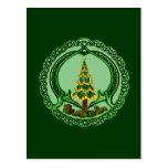 Christmas Claddagh Postcard