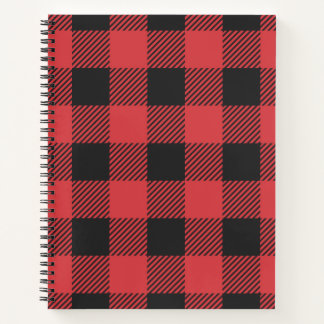 Christmas classic Buffalo check plaid pattern Notebook