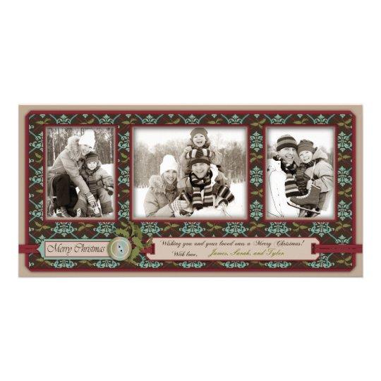Christmas Classic Photo Card Trio