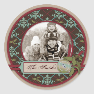 Christmas Classic Photo Sticker 2
