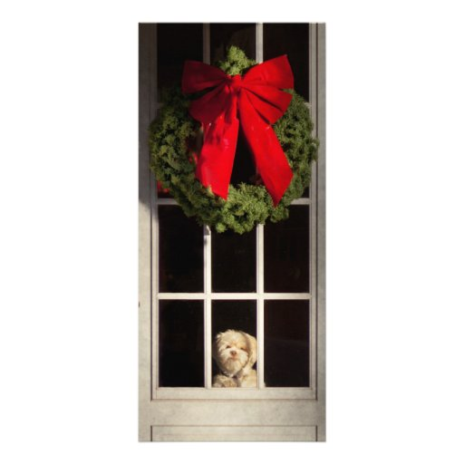 Christmas - Clinton, NJ - Christmas puppy Rack Card Template