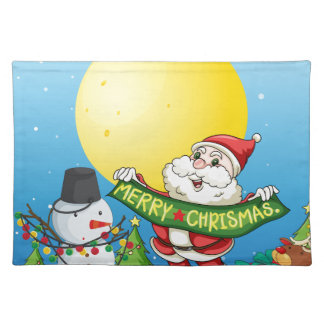 Christmas Cloth Placemat