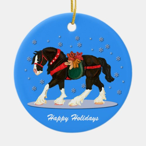 Clydesdale Ornament