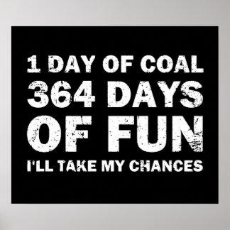 Christmas Coal VS 364 Days of Fun Poster