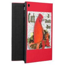 Christmas Cockadoodledoo Cover For iPad Air