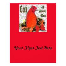 Christmas Cockadoodledoo Flyer