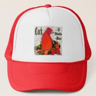 Christmas Cockadoodledoo Trucker Hat