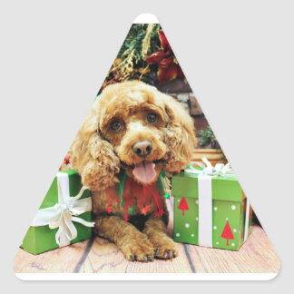 Christmas - Cockapoo - Elli Stickers