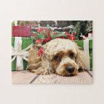 Christmas - Cockapoo - Ruby Puzzle