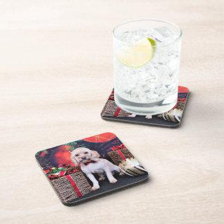 Christmas - Cockapoo - Schmidt Coasters