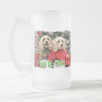 Christmas - Cockapoo - Sugar and Spice Mugs