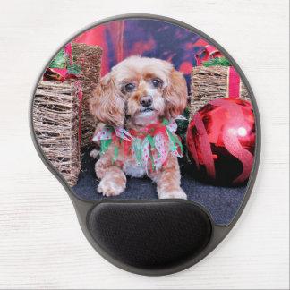 Christmas - Cockapoo - Tessa Gel Mouse Mats