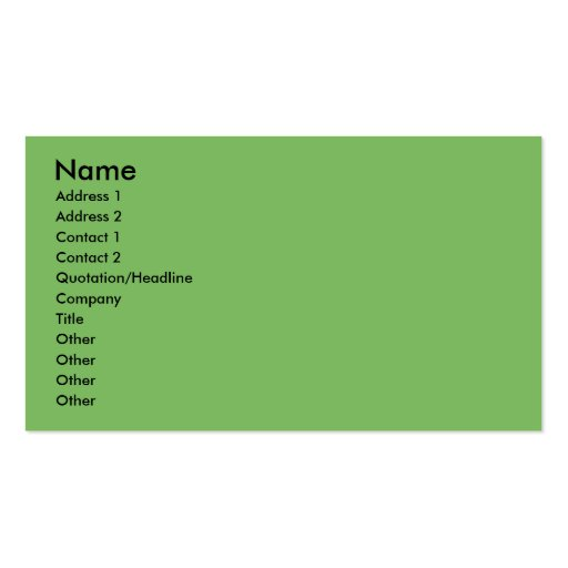Christmas - Cocker Spaniel - Calvin Business Card Templates