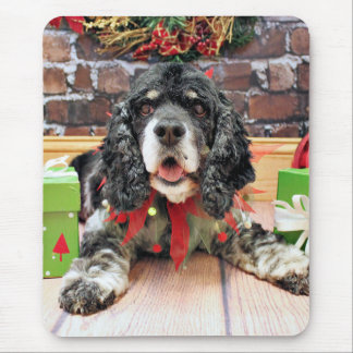 Christmas - Cocker Spaniel - Harley Mouse Pads