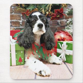 Christmas - Cocker Spaniel - Laci Mouse Pad