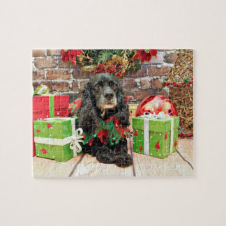 Christmas - Cocker Spaniel - Lily Jigsaw Puzzles