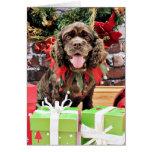 Christmas - Cocker Spaniel - Murphy Card