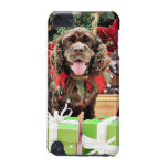 Christmas - Cocker Spaniel - Murphy iPod Touch (5th Generation) Case