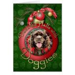 Christmas - Cocker Spaniel - Murphy Greeting Cards