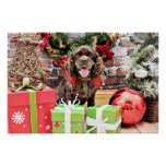 Christmas - Cocker Spaniel - Murphy Posters