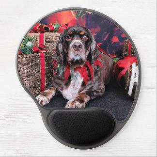 Christmas - Cocker Spaniel - Remmy Gel Mousepads