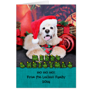 Christmas - Cocker Spaniel - Tobey Cards