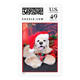 Christmas - Cocker Spaniel - Tobey Postage