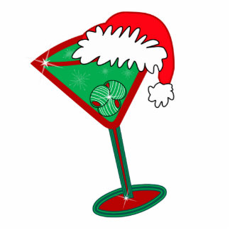 Christmas Cocktail Ornament