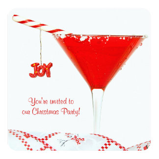 Christmas Cocktail Party Card
