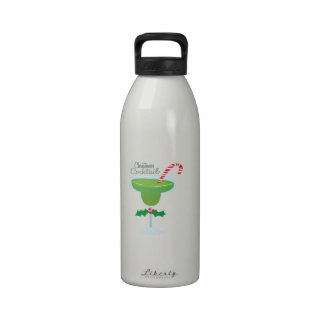 Christmas Cocktail Drinking Bottle